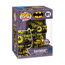 Figurine Pop Artist Series Batman Black & Yellow avec Boîte de Protection Acrylique Edition Limitée Funko Boutique Geneve Suisse