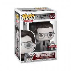 Figur Pop Stephen King with Red Balloon Black and White Limited Edition Funko Geneva Store Switzerland