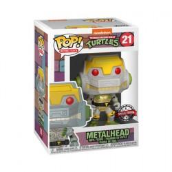 Figurine Pop Métallique Teenage Mutant Ninja Turtles Metalhead Edition Limitée Funko Boutique Geneve Suisse