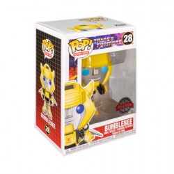 Figur Pop Transformers (1984) Bumblebee with Wings Limited Edition Funko Geneva Store Switzerland
