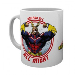 Figurine Tasse My Hero Academia All Might GB eye Boutique Geneve Suisse