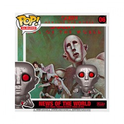 Figurine Pop Queen Albums News of the World Funko Boutique Geneve Suisse