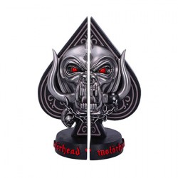 Figur Motorhead Bookends Ace of Spades- Officially licensed, hand-painted bookends - Material: Resin - Size: approx. 18,5 cm ...