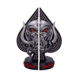 Figurine Motorhead Serre-Livres Ace of Spades Nemesis Now Boutique Geneve Suisse