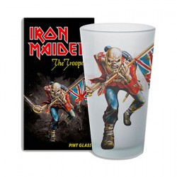 Figurine Verre Iron Maiden The Trooper KKL Boutique Geneve Suisse