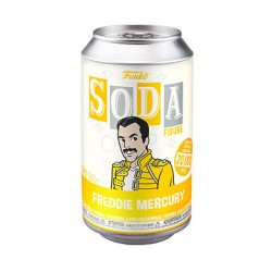 Figur Queen Soda Figure Freddie Mercury Limited Edition Geneva Store Switzerland