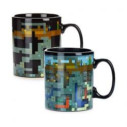 Figuren Minecraft Mug Veränderung durch Hitze Tasse Hole in the Wall Genf Shop Schweiz