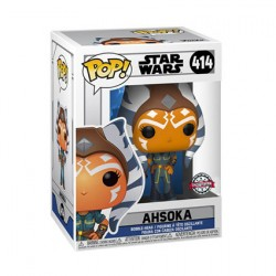 Figur Pop Star Wars Clone Wars Ahsoka Casual Pose Limited Edition Funko Geneva Store Switzerland