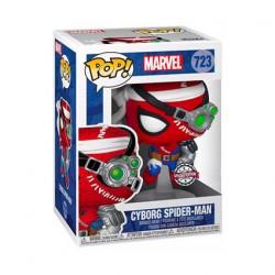 Figur Pop Spider-Man Cyborg Spider-Man Limited Edition Funko Geneva Store Switzerland