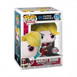 Figur Pop Batman Harley Quinn with Boombox Rebirth Limited Edition Funko Geneva Store Switzerland