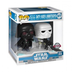 Figur Pop Star Wars The Empire Strikes Back Darth Vader & Stormtrooper Battle at Echo Base Deluxe Limited Edition Funko Genev...