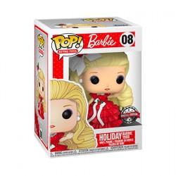 Figurine Pop Icon Barbie Holiday Edition Limitée Funko Boutique Geneve Suisse