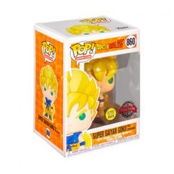 Figurine Pop Phosphorescent Dragon Ball Z Goku Super Saiyan Edition Limitée Funko Boutique Geneve Suisse