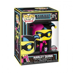Figurine Pop Batman The Animated Series Harley Quinn Blacklight Edition Limitée Funko Boutique Geneve Suisse