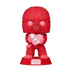 Figurine Pop Star Wars Valentines Chewbacca avec Coeur Funko Boutique Geneve Suisse