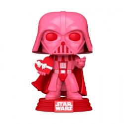 Figurine Pop Star Wars Valentines Darth Vader avec Coeur Funko Boutique Geneve Suisse
