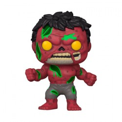 Figurine Pop Marvel Zombie Red Hulk Funko Boutique Geneve Suisse