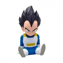 Figurine Tirelire Dragon Ball Chibi Vegeta Plastoy Boutique Geneve Suisse
