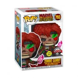 Figurine Pop Phosphorescent Marvel Zombie Gambit Edition Limitée Funko Boutique Geneve Suisse