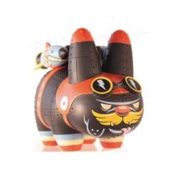 Figuren Yankee Pig Dog Labbit von Kronk ohne Verpackung Kidrobot Designer Toys Genf