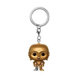 Figurine Pop Pocket Porte-clés Star Wars C-3PO Funko Boutique Geneve Suisse