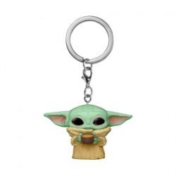 Figurine Pop Pocket Porte-clés Star Wars The Mandalorian The Child avec Cup Funko Boutique Geneve Suisse