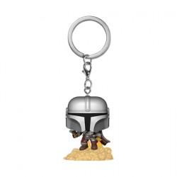Figurine Pop Pocket Porte-clés Star Wars The Mandalorian avec Blaster Funko Boutique Geneve Suisse