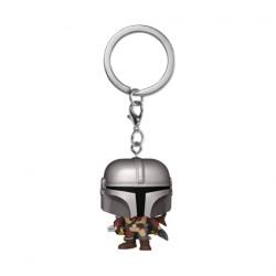 Figurine Pop Pocket Porte-clés Star Wars The Mandalorian Funko Boutique Geneve Suisse