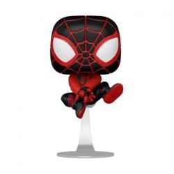 Figurine Pop Marvel Games Spider-Man Miles Morales Bodega Cat Suit Funko Boutique Geneve Suisse