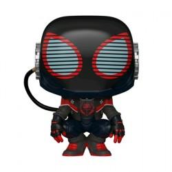 Figurine Pop Marvel Games Spider-Man Miles Morales 2020 Suit Funko Boutique Geneve Suisse