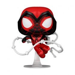 Figurine Pop Marvel Games Spider-Man Miles Morales Crimson Cowl Suit Funko Boutique Geneve Suisse