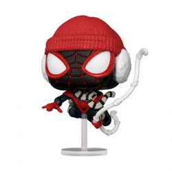 Figur Pop Marvel Games Spider-Man Miles Morales Winter Suit Funko Geneva Store Switzerland