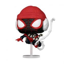 Figurine Pop Marvel Games Spider-Man Miles Morales Winter Suit Funko Boutique Geneve Suisse