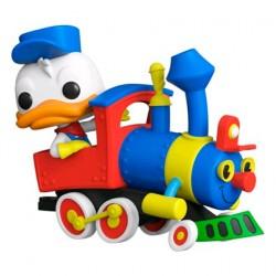 Figur Pop Disneyland 65th Anniversary Donald in Train Engine Funko Geneva Store Switzerland