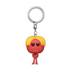 Figurine Pop Pocket Porte-clés Rick et Morty Kirkland Meeseeks Funko Boutique Geneve Suisse