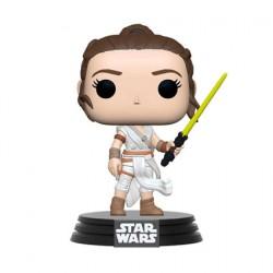 Figurine Pop Star Wars Rey avec Sabre Jaune Funko Boutique Geneve Suisse