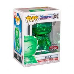 Figuren Pop Marvel Endgame Hulk mit Infinity Gauntlet Grün Chrome Limitierte Auflage Funko Genf Shop Schweiz