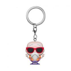 Figurine Pop Pocket Porte Clés Dragon Ball Z Master Roshi Peace Sign Funko Boutique Geneve Suisse