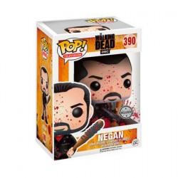 Figurine Pop The Walking Dead Bloody Negan Édition Limitée Funko Boutique Geneve Suisse