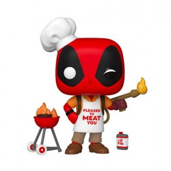 Figur Pop Marvel Deadpool 30th Anniversary Backyard Griller Deadpool Funko Geneva Store Switzerland