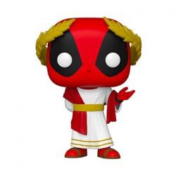 Figurine Pop Marvel Deadpool 30th Anniversaire Deadpool en Senateur Romain Funko Boutique Geneve Suisse
