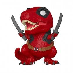 Figurine Pop Marvel Deadpool 30th Anniversaire Dinopool Funko Boutique Geneve Suisse