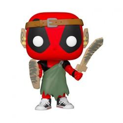 Figurine Pop Marvel Deadpool 30th Anniversaire Larp Deadpool Funko Boutique Geneve Suisse