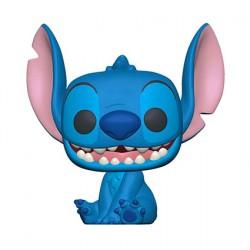 Figur Pop Disney Lilo & Stitch Smiling Seated Stitch Funko Geneva Store Switzerland