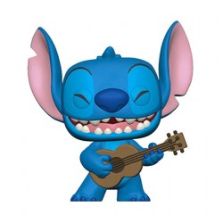 Figur Pop Disney Lilo & Stitch with Ukelele Funko Geneva Store Switzerland