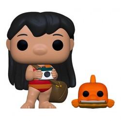 Figurine Pop Disney Lilo & Stitch Lilo avec Pudge Funko Boutique Geneve Suisse