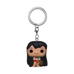 Figurine Pop Pocket Porte Clés Disney Lilo & Stitch Lilo avec Camera Funko Boutique Geneve Suisse