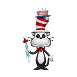 Pop Dr Seuss Cat in The Hat avec Gateau et Parapluie Édition Limitée