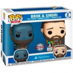 Figurine Pop God of War Broc et Sindri 2-Pack Edition Limitée Funko Boutique Geneve Suisse