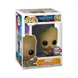 Figurine Pop Les Gardiens de le Galaxie 2 Groot avec Candy Bowl Edition Limitée Funko Boutique Geneve Suisse